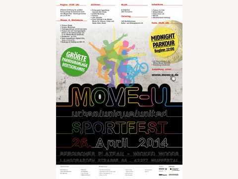Event MOVE-U Wuppertal